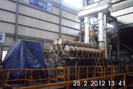 Mechanical and Electrical Installation Engine Nigata 18V32CLX Hative Power Plant