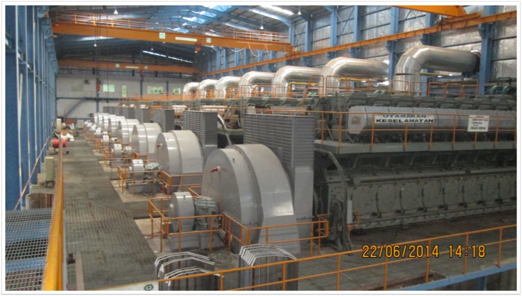 Engine 9L58/64 Belawan Power Plant